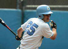 Second baseman and co-captain Henry Perkins '08, the Ivy League Player of the Year, finished his Columbia career among the top five in hits (186), double (36), and triples (11) PHOTO: GENE BOYARS