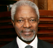 Kofi Annan PHOTO: BRUCE GILBERT