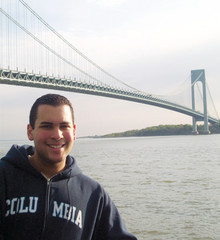 For Brooklyn native Luis Quero '10, the opportunity to receive an Ivy League education while staying close to home made the College a perfect fit. PHOTO: JONATHAN BATISTA
