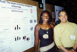 Social psychologist Claude Steele was Purdie-Vaughns' Ph.D. adviser at Stanford.Photo: Courtesy Valerie Purdie-Vaughns '93