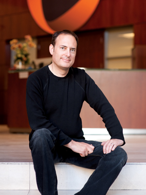 Steve Perlman '83, founder and CEO of Rearden, OnLive and MOVA, at the company's San Francisco headquarters. PHOTO: Jaymer Delapena