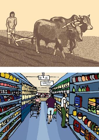 From farmer to urbanite, a fundamental shift.