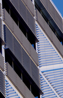 The Northwest Corner Building provides a modern contrast to older campus architecture. Photo: © 2010 Bob Handelman