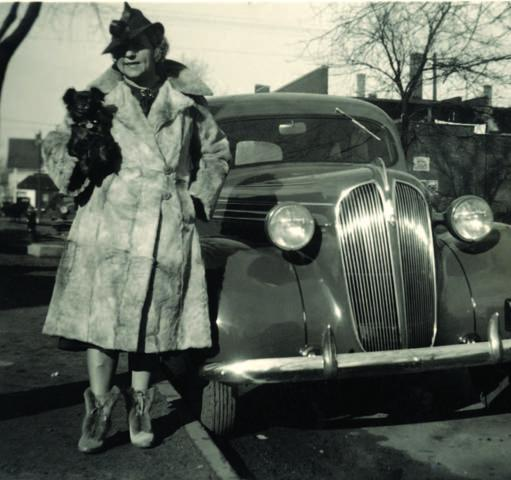 Gracia Gray DaRatt with what may be the car Kluge bought for her with his contest winnings.
