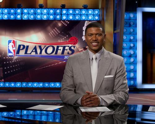 Former basketball player and sports commentator Jalen Rose