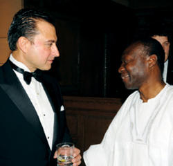 Honorees Alexander Navab '87 and Kenneth Ofori-Atta '84.
