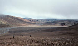 The valley in Bird Fiord where the team camped and made its discovery. Photo: © Ted Daeschler