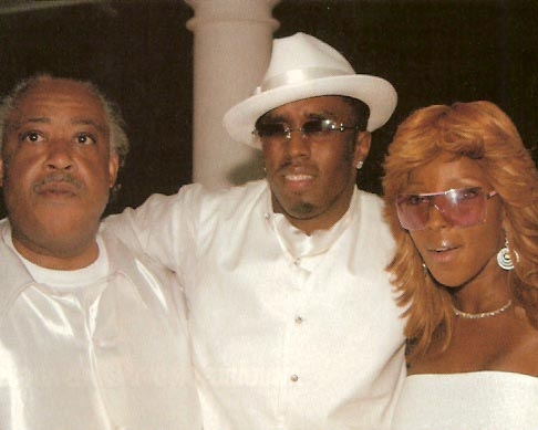 "The Rev. Al Sharpton, music mogul Sean ""Diddy"" Combs and singer Mary J. Blige"