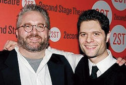 "Yorkey and Kitt, at the Off-Broadway opening of Next to Normal at the Second Stage Theatre in 2008, say they don't settle for ""good enough"" but ""keep going until we get the best thing we possibly can."""