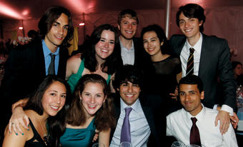 Members of the Class of 2013 turned out in their finest for the annual Senior Dinner on May 7; PHOTO: GENE BOYARS