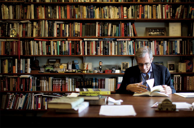 Foner in his office in Fayerweather Hall.