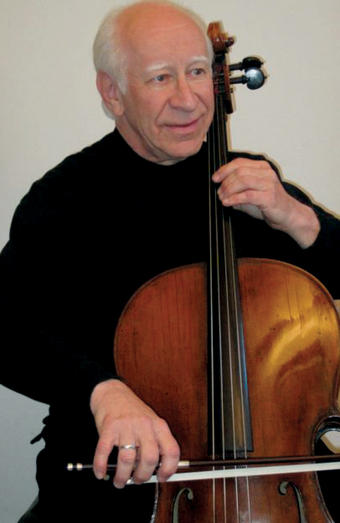 Jerry Kessler '63's cello can be heard on many TV and film soundtracks. Photo: courtesy Jerry Kessler '63
