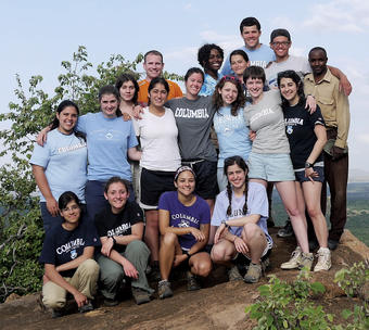 Tropical biology students study abroad at The Mpala Research Centre in Kenya - College and Barnard students in June 2011