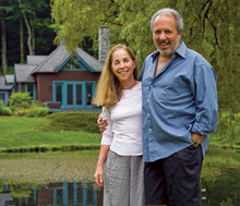 Suky and Tom Werman '67, '69 Business at Stonover Farm, their upscale bed-and-breakfast in Lenox, Mass. PHOTO: KEVIN SPRAGUE