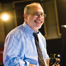 "National Public Radio's Robert Siegel '68 began his broadcasting career at WKCR, where he covered the events of Spring '68 and recalls, ""This is what we wanted to do. We wanted to be on the radio."" Photo: © 2008 NPR, by Stephen Voss"