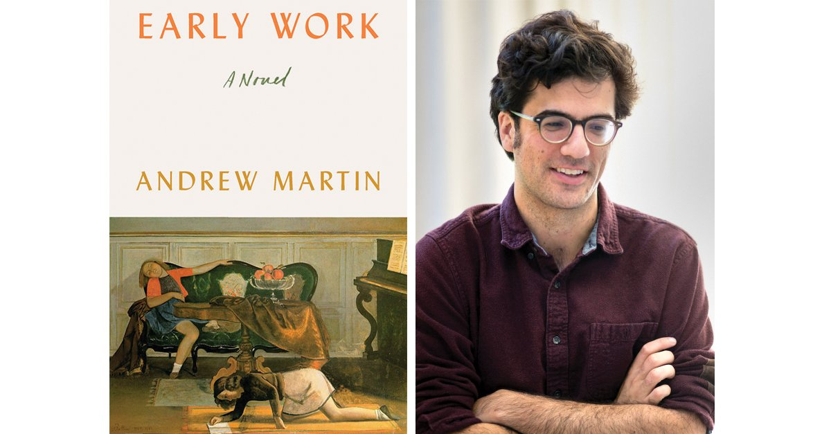 Andrew Martin '08 Redefines the Millennial Novel