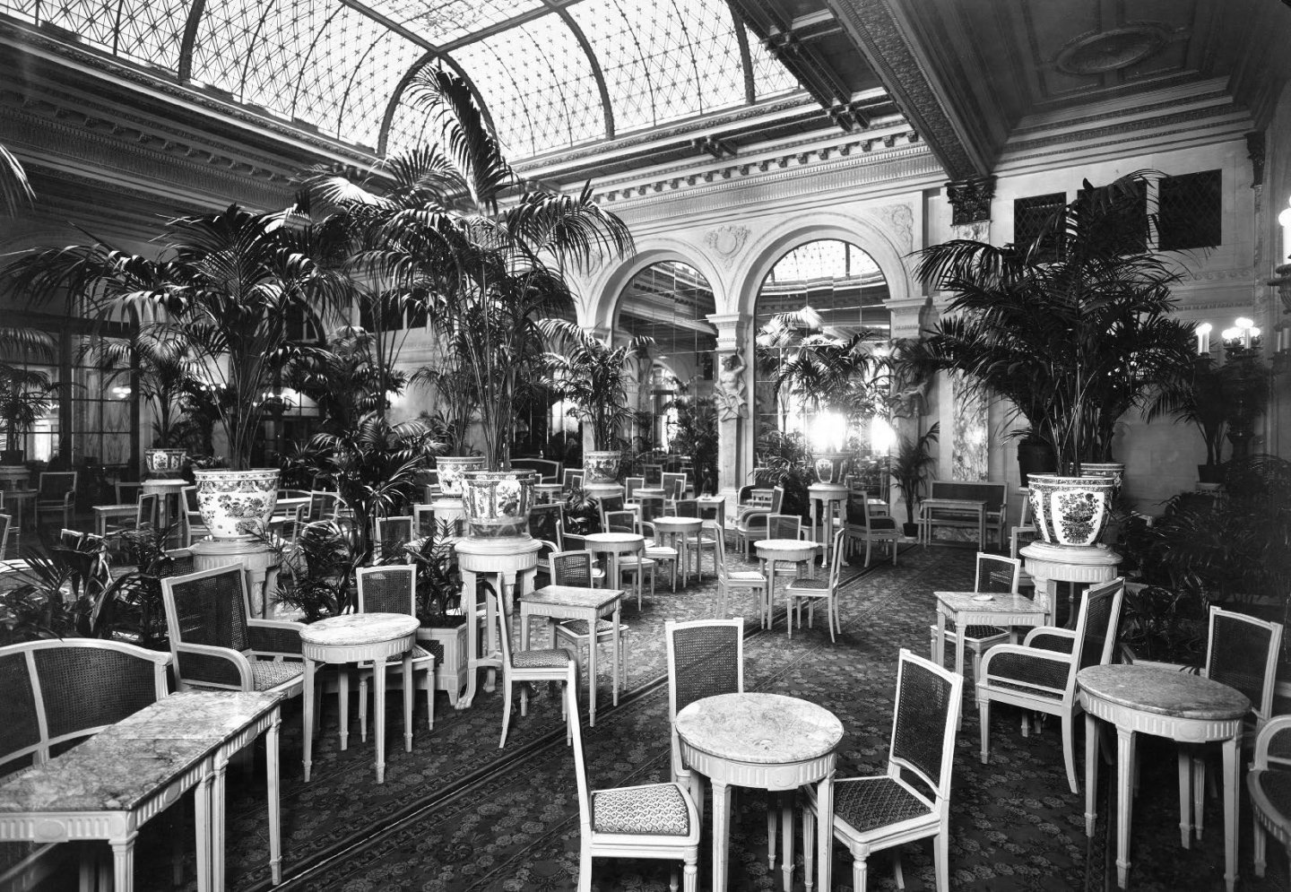 The Tea Room of the Plaza Hotel