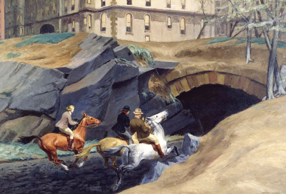 Edward Hopper, Bridle Path, 1939; Oil on canvas; Private collection (pp. 118–119)