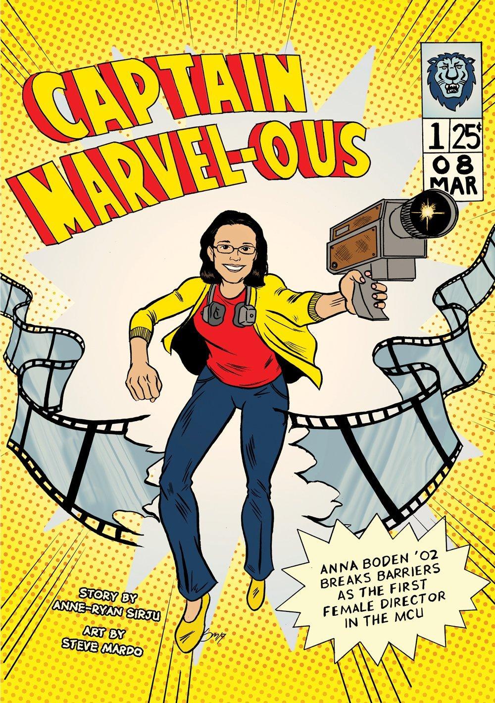 Captain Marvel-ous