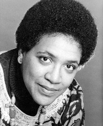 Poet and activist Audre Lorde