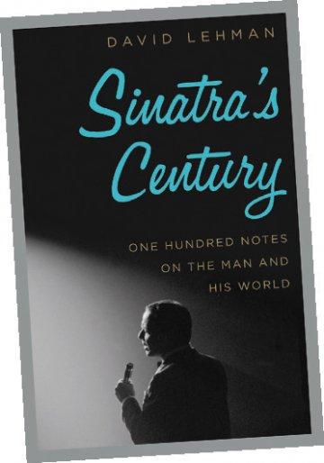 "Bookcover reading ""Sinatra's Century"""