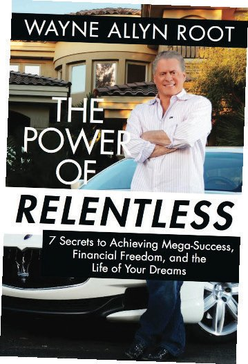"Book cover for ""The Power of Relentless"""