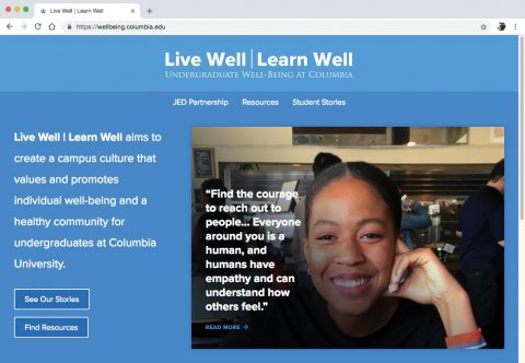 the Live Well | Learn Well website