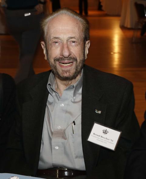 Bernd Brecher '54, JRN'55