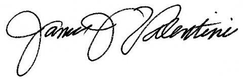 Dean Valentini's signature