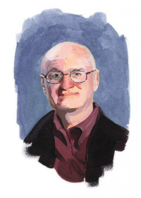 Illustration of Robert E. Harrist Jr.