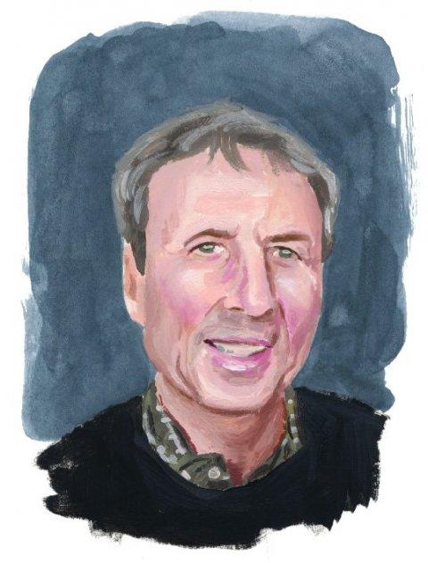 Illustration of Walter Frisch
