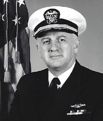 Rear Adm. Beverly James Lowe '51