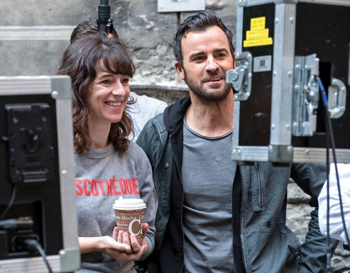Photo of Susanna Fogel and Justin Theroux