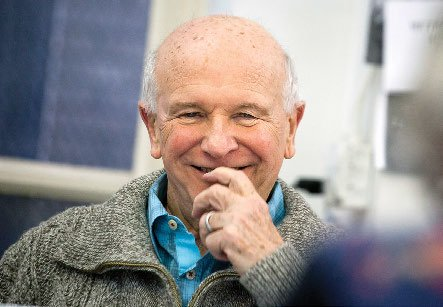 Photo of playwright Terrence McNally '60