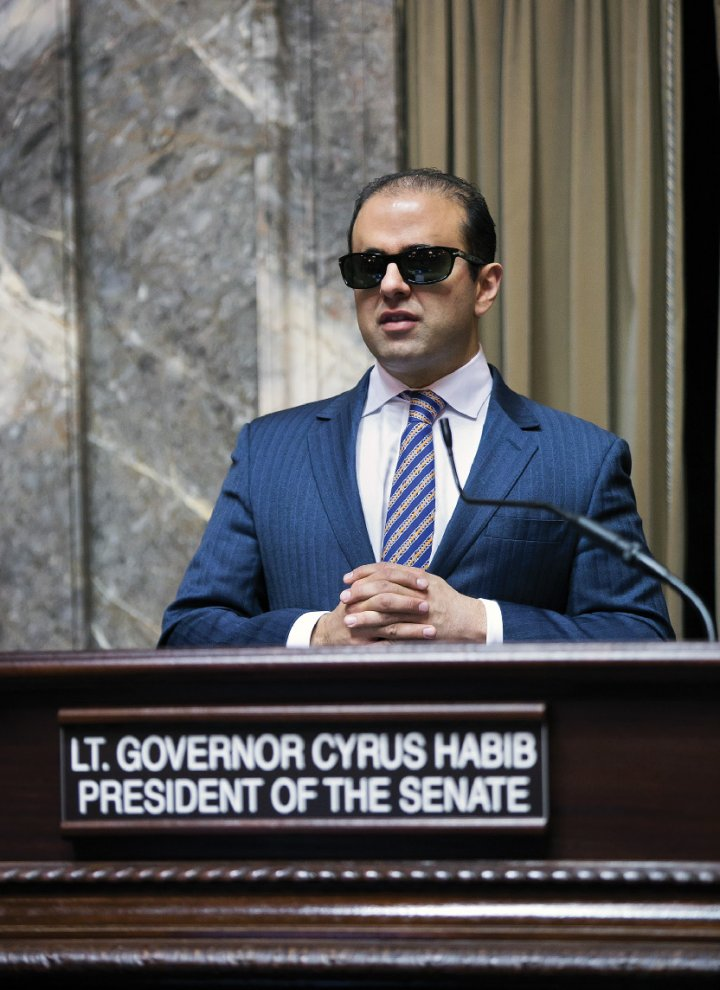 Washington State Lt. Governor Cyrus Habib