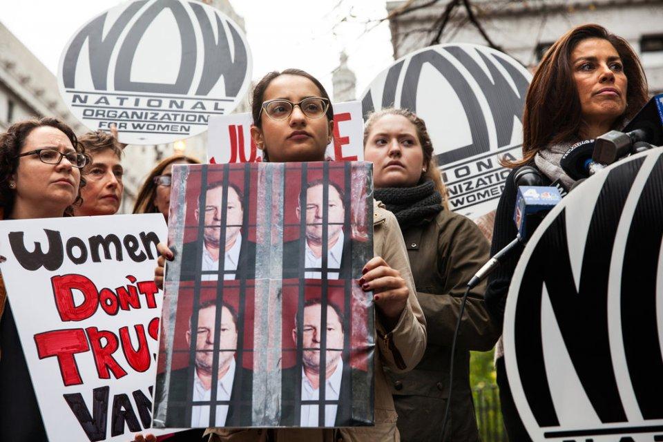 Alyssa Vance Weinstein protest