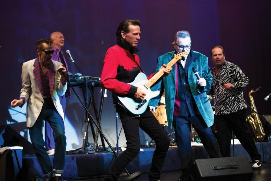 Sha Na Na rocked Roone Arledge Auditorium in a special reunion concert.