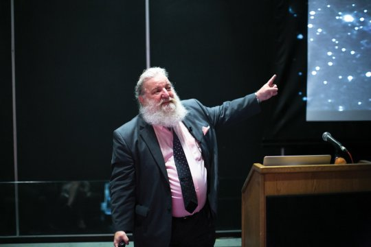 Professor of Astronomy David Helfand