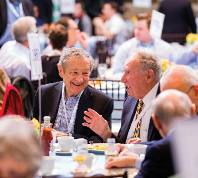 The Dean's Breakfast brings together classmates.