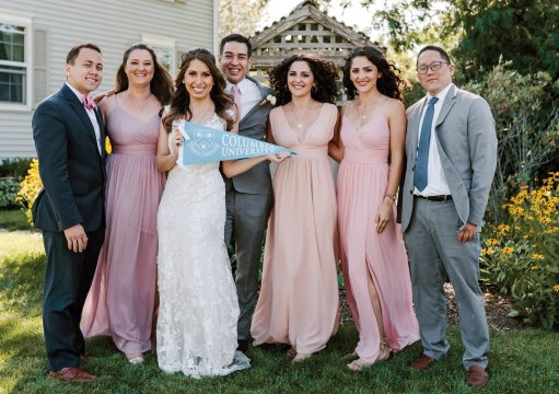 Photo from the wedding of Kimberly Flores Gaynor '16 and Eric Gaynor GS'16