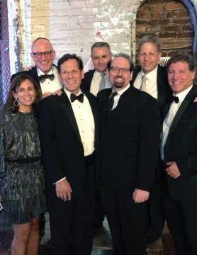 Photo from the wedding of Neal Smolar '83 and Betsy Chutter Smolar BC'85's daughter