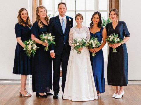 Photo from the wedding of Charlotte Freinberg '10 and Iestyn Barker