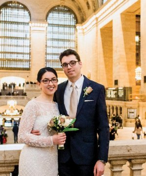 Photo from the wedding of Irene Izaguirre-Lopez Post '12 and Robert Post SEAS'12