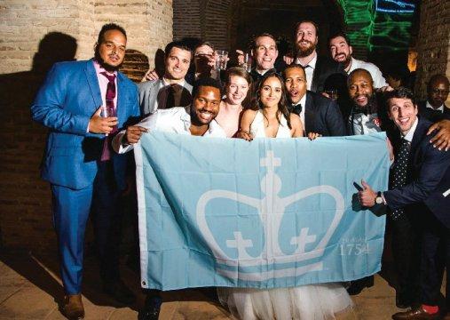 Photo from the wedding of Ahiza García '10 and Vaughn Hodges '10