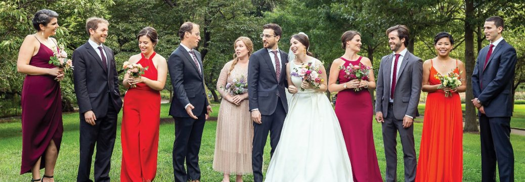 Photo from the wedding of Nina Lukina '12 and Russell Gallaro LAW'12