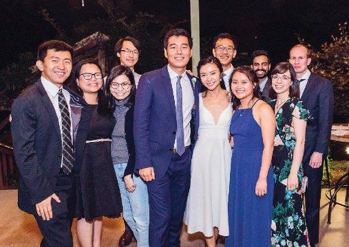 Photo from the wedding of Wendan Li '12 and Yufei Liu SEAS'12