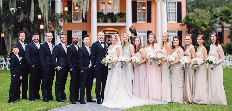 JP McManus '09 married Korrie O'Neill on October 6, 2017, in New Orleans.