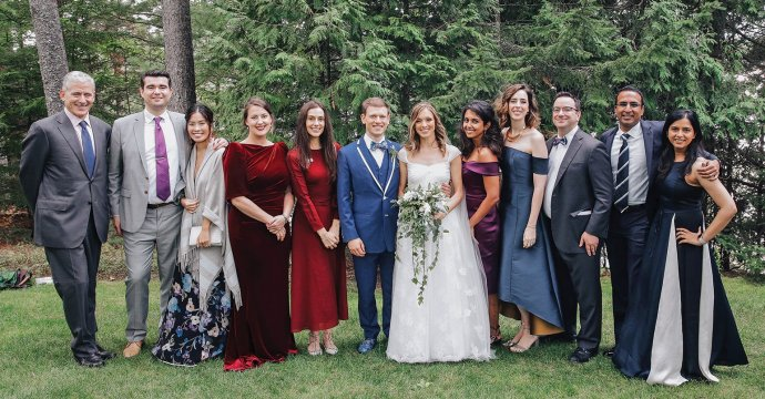 Lila Dupree '03 married Daniel Adair BUS'14 on September 15 in Northeast Harbor, Maine