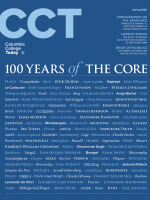 "The words ""100 Years of the Core"" followed by topics covered in the Core Curriculum"
