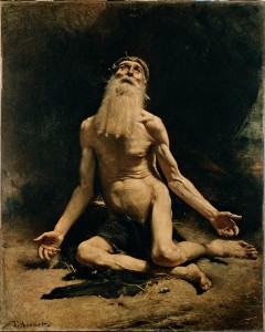 Job by Leon Bonnat, 1860 (Artstor/Erich Lessing Culture & Fine Arts Archives)